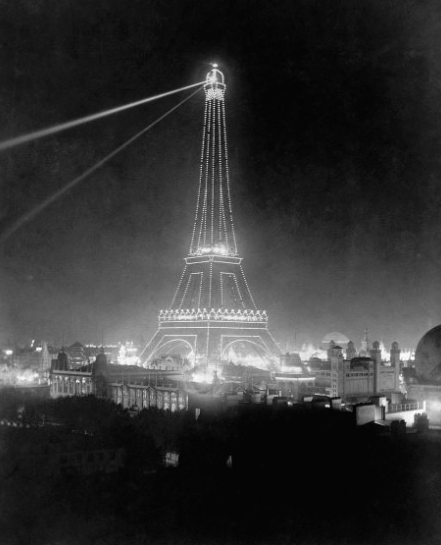 During the 1900 Universal Exposition held in Paris